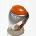 انگشتر قدیمی عقیق نارنجی یمنی a500