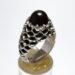انگشتر فدیوم جزع سرخ تیره f509
