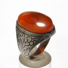 انگشتر قدیمی عقیق یمن a506