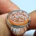 عکس ریز انگشتر خطی حکاکی قاجاری f523_5