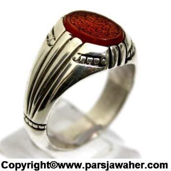 انگشتر دست ساز نقره 2218