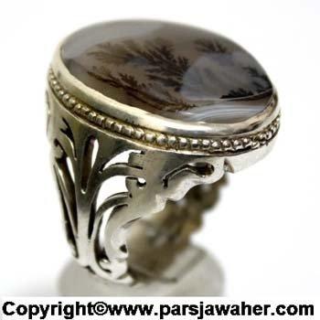 انگشتر نقره شجر 175