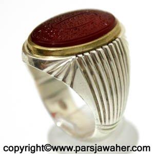 انگشتر عقیق الراجی میرزا 2853