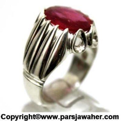 انگشتر یاقوت سرخ برمه 1044