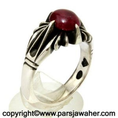 انگشتر یاقوت سرخ 307