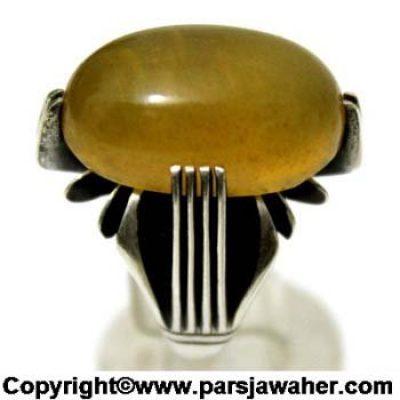 نگین انگشتر نقره شرف الشمس 1083
