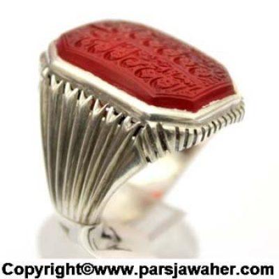 انگشتر نقره دست ساز اقل میرزا 2840