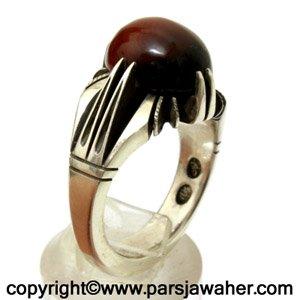 انگشتر جزع یمانی 3013