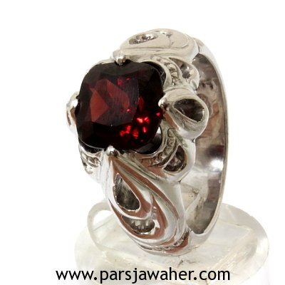 Red Garnet Fedium Men's Ring 932