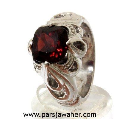 Red Garnet Fedium Men's Ring 932