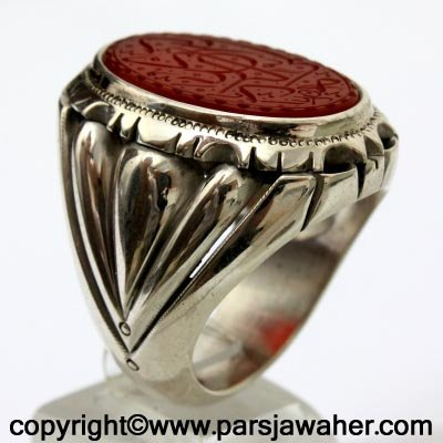 انگشتر نقره شیخ احمد 2247