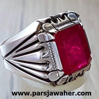 انگشتر یاقوت سرخ سنتاتیک 321