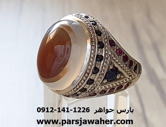 رکاب انگشتر نقره مردانه دست ساز 1028