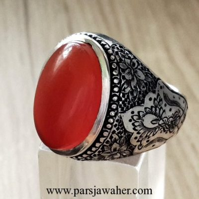 yemeni agate engraving ring 215