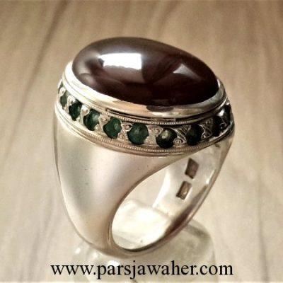 yemeni aqeeq men's ring 145