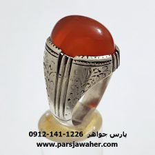 انگشتر عقیق یمن قدیمی a340