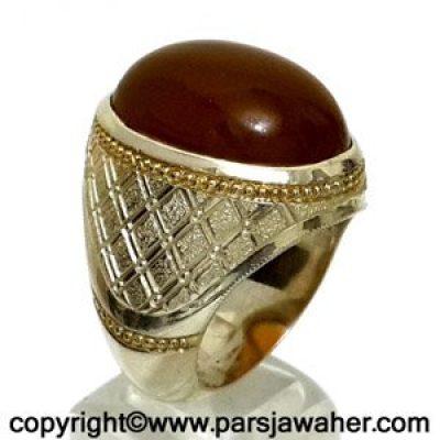 انگشتر جزع یمنی 3006