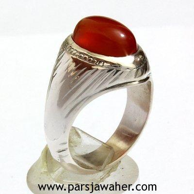 انگشتر نقره مردانه دست ساز 444408